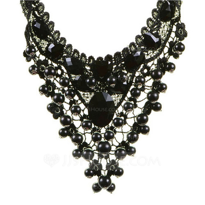 Punk Alloy Lace Women's Fashion Necklace