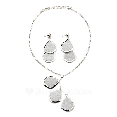 Leaves Shaped Alloy Women's Jewelry Sets