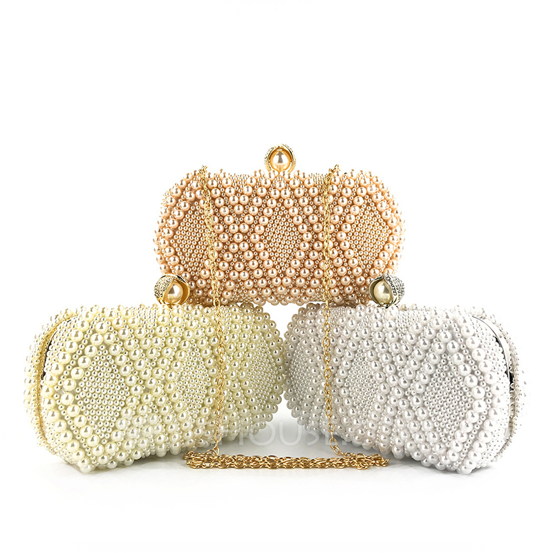 Fashionable Pearl Clutches