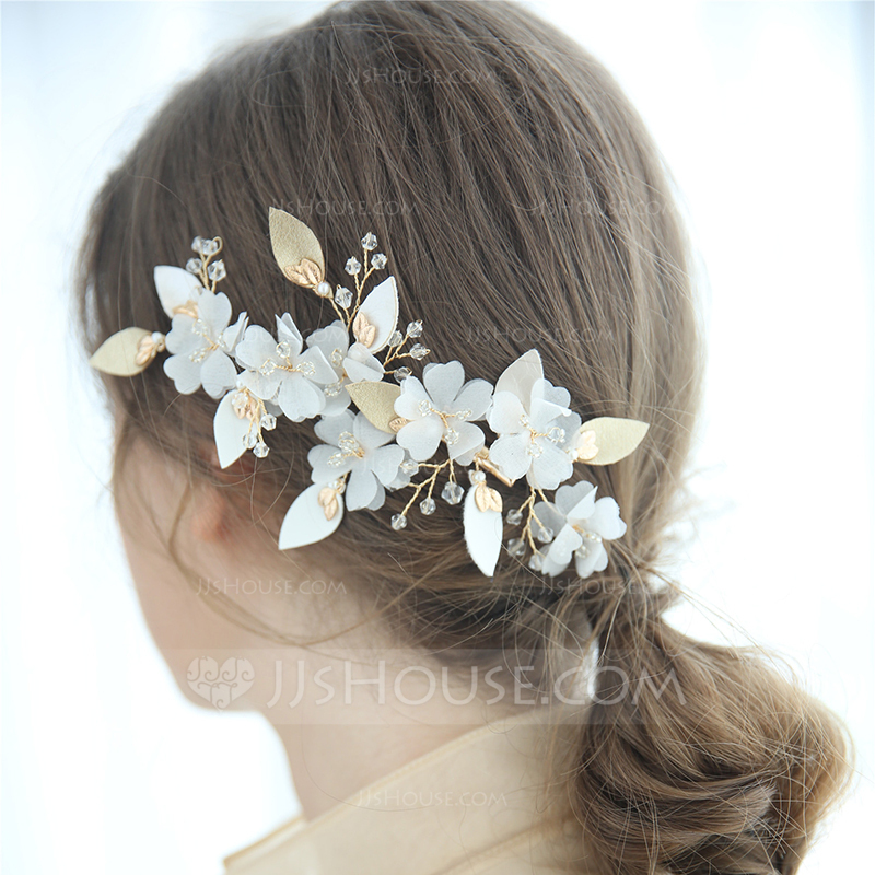 Ladies Glamourous Crystal/Alloy Hairpins Crystal (Sold in single piece)