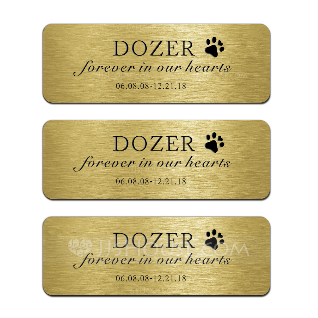 Personalized High Quality/Cat Design Copper Tags