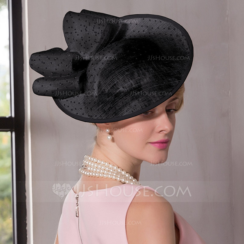 3b8b5667141 Ladies  Simple Eye-catching Pretty Cambric With Bowknot Fascinators. Loading  zoom