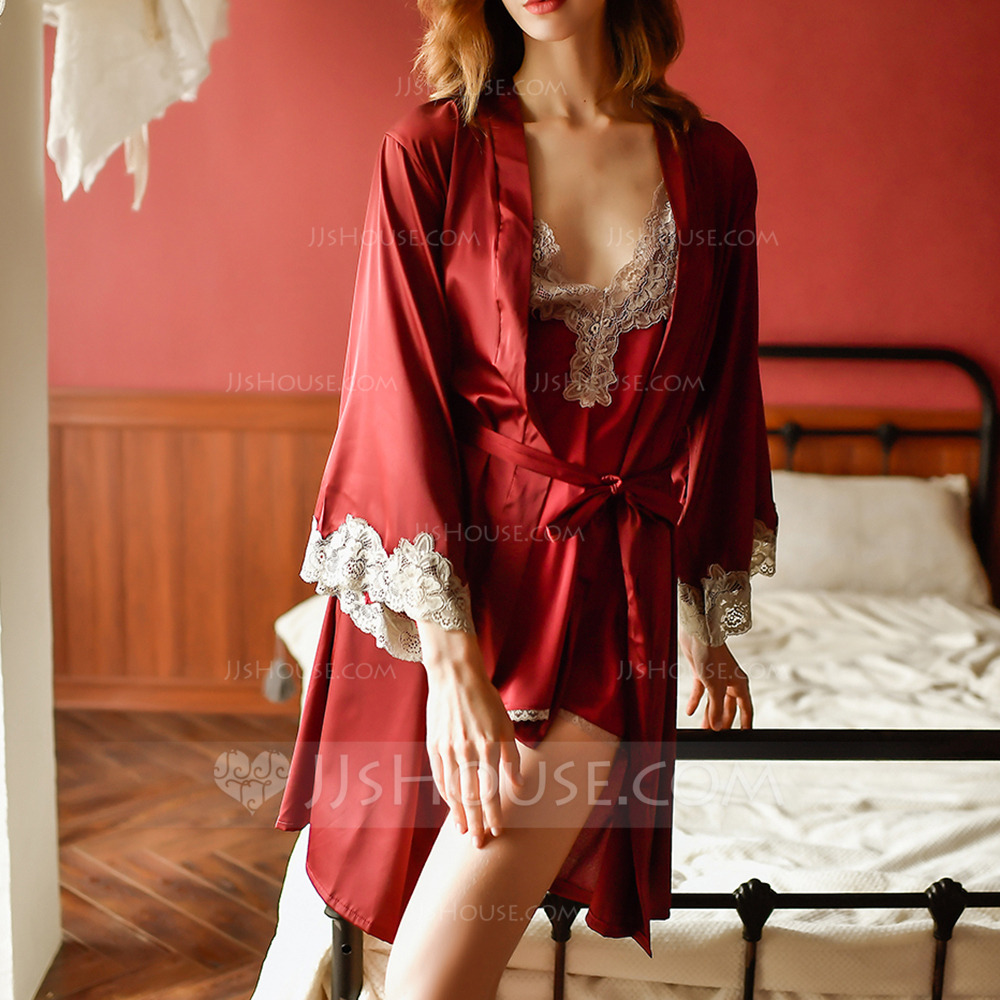 Bridal/Feminine Classic Satin Robes
