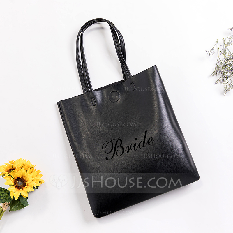 0818e8b0f5e2 Bride Gifts - Personalized Attractive Special Imitation Leather Tote Bag.  Loading zoom