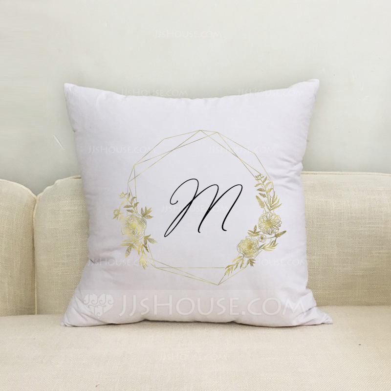 Groom Gifts - Personalized Classic Solid Color Polyester Pillowcase