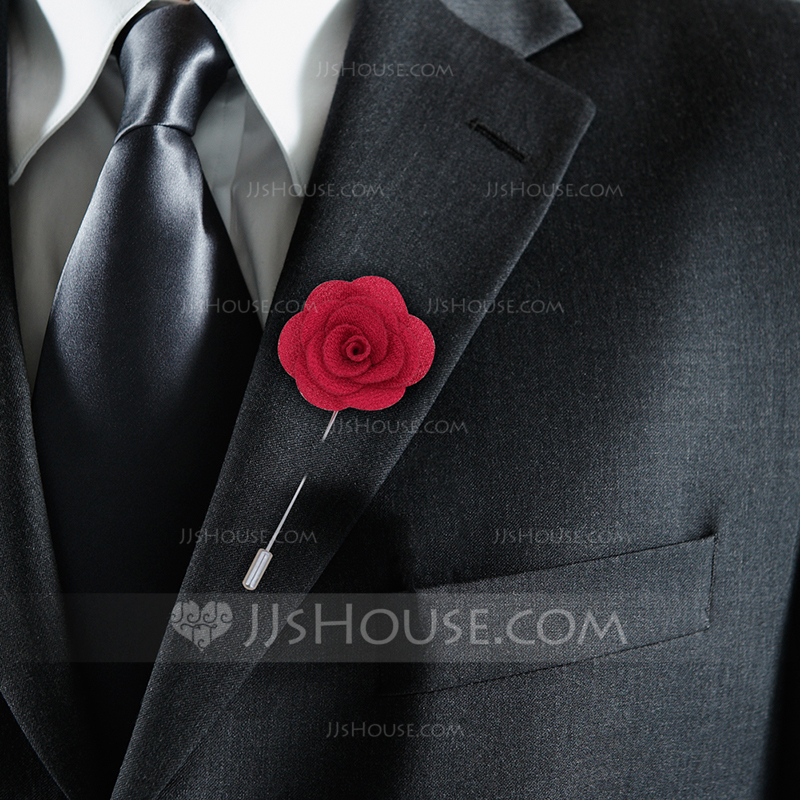 Fabric Boutonniere (Sold in a single piece) -