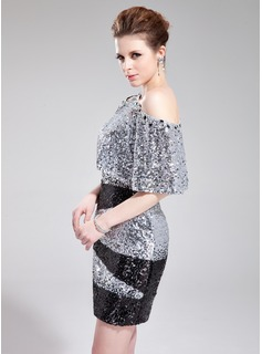 Sequined Special Occasion Wrap