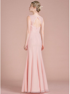 champagne floor length dress chiffon