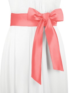 sashes bridesmaid dress