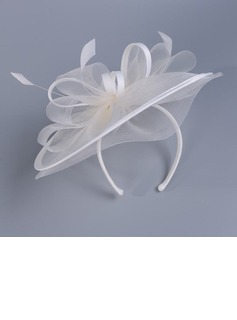 Ladies' Lovely Cambric With Feather Fascinators/Kentucky Derby Hats