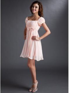 blush bridesmaid dresses short sleeve