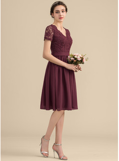 vintage tea length bridesmaid dresses