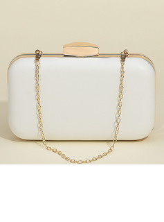 Patent Leather Clutches/Satchel