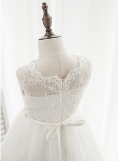 ivory tea length wedding dresses