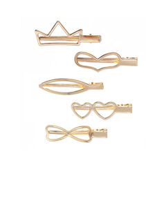 Ladies Beautiful Copper Hairpins (Set of 5)