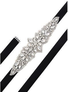 rhinestone sash belt for dress