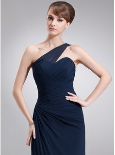navy bridesmaid dresses long