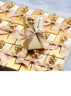 Classic Cubic Card Paper Favor Boxes (Set of 30)