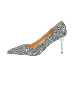 Women's Sparkling Glitter Stiletto Heel Pumps With Others