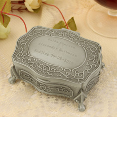 Bridesmaid Gifts - Personalized Classic Elegant Vintage Alloy Jewelry Box