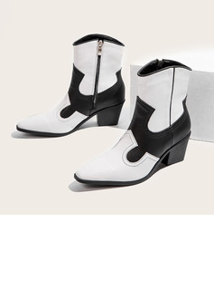 dress ankle boots low heel