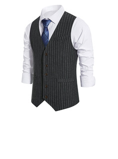 Style classique polyester gilet homme