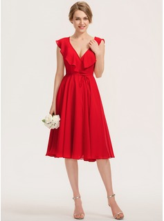 red mermaid high low dress