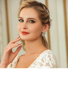 Ladies' Elegant Alloy Earrings For Bride/For Bridesmaid