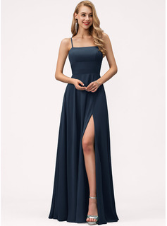 evening dress with slits