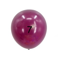 Simple Colorful Emulsion Balloon (set of 20)