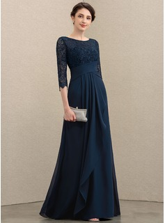 modest navy blue maxi dress