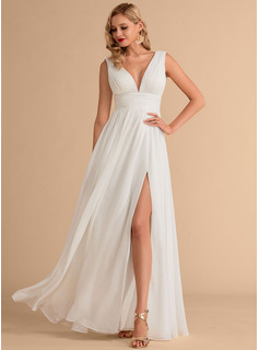 simple midi wedding dresses