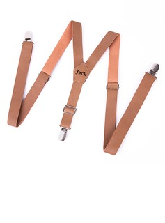 Personalized Classic PU Suspenders
