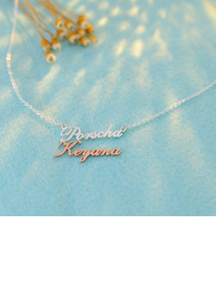 Custom Name Two Name Necklace - Birthday Gifts