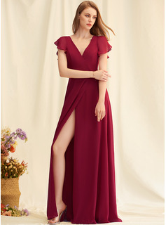 red long prom dresses gold