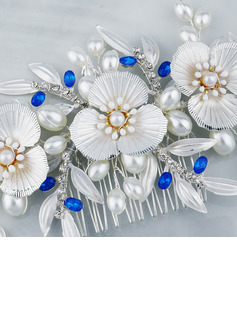 Beautiful Imitation Pearls Combs & Barrettes With Venetian Pearl (Sold in single piece)