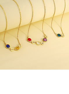 Custom Name Birthstone Name Necklace Birthstone Necklace -
