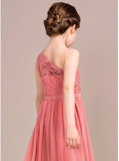 ruffled prom dress coral