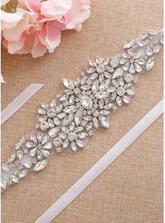 wedding dresses with bling belts