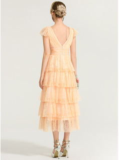 chiffon ruched prom dress