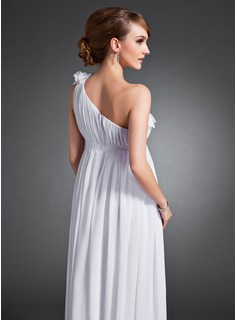 long formal dress with train
