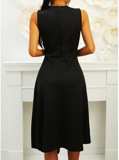 long black halter chiffon dress