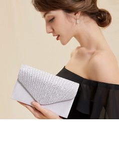 Elegant/Unique Satin/Crystal/ Rhinestone Clutches