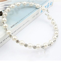 Beautiful Alloy/Pearl With Rhinestone Necklaces