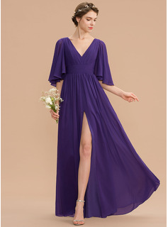 simple long sleeve evening dress