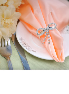 Butterfly Napkin Rings With Rhinestone