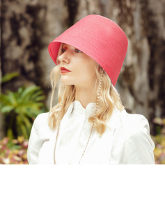 Ladies' Special/Charming Polyester Bowler/Cloche Hats/Beach/Sun Hats