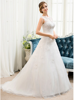 women elegant wedding dress