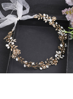 Ladies/Kids Beautiful Crystal/Rhinestone/Alloy/Imitation Pearls Headbands With Rhinestone/Pearl/Venetian Pearl/Crystal/Imitation Crystal (Sold in single piece)