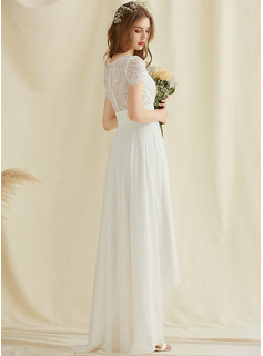 long white column dress